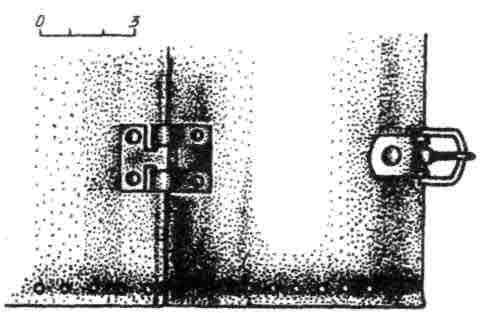 Рис. 11. Реконструкция нижней части трубчатого наруча из Гомельской мастерской начала XIII в.